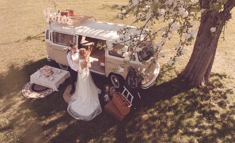 Retrofotobus Hochzeit
